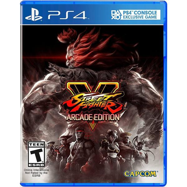Buy Ps4 Street Fighter V Arcade Edition Eur R2 Cusa 01222 Online