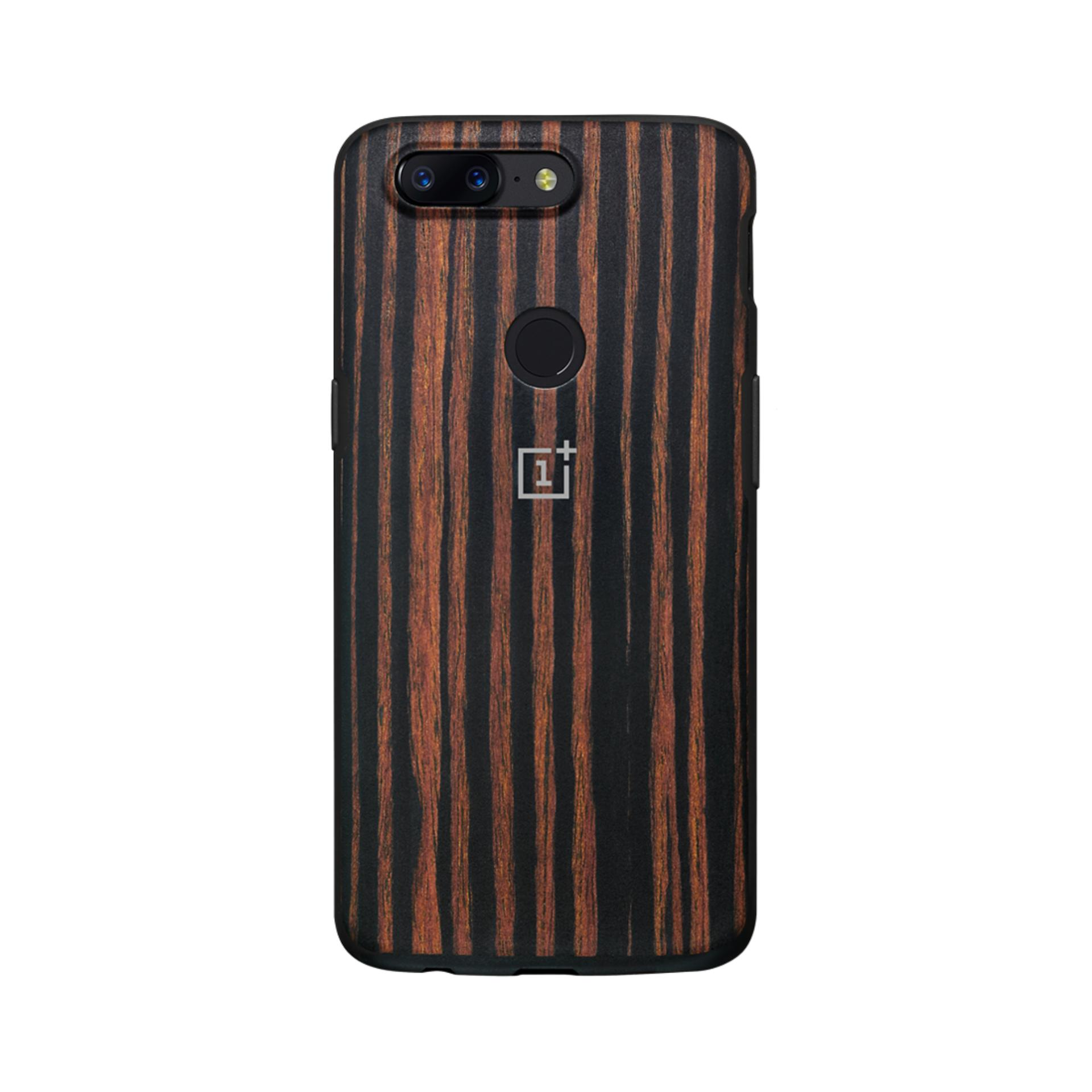 Oneplus 5T Ebonywood Bumper Case On Line