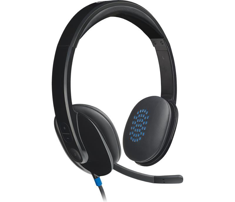 Logitech H540 USB COMPUTER HEADSET With High-Definition sound and on-ear controls Singapore