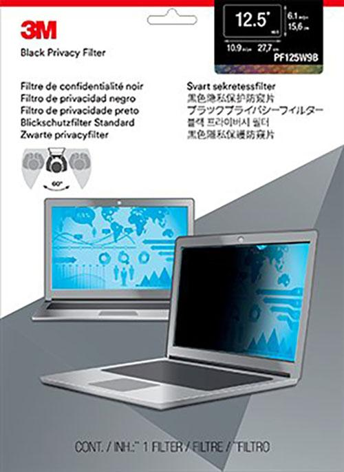 3M Privacy Filter for 12.5 inch Widescreen Laptop PF125W9B