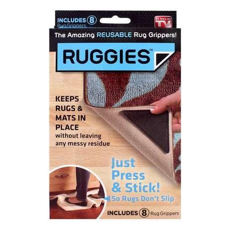 Reusable Rug Gripper Ruggies (Pack of 8)