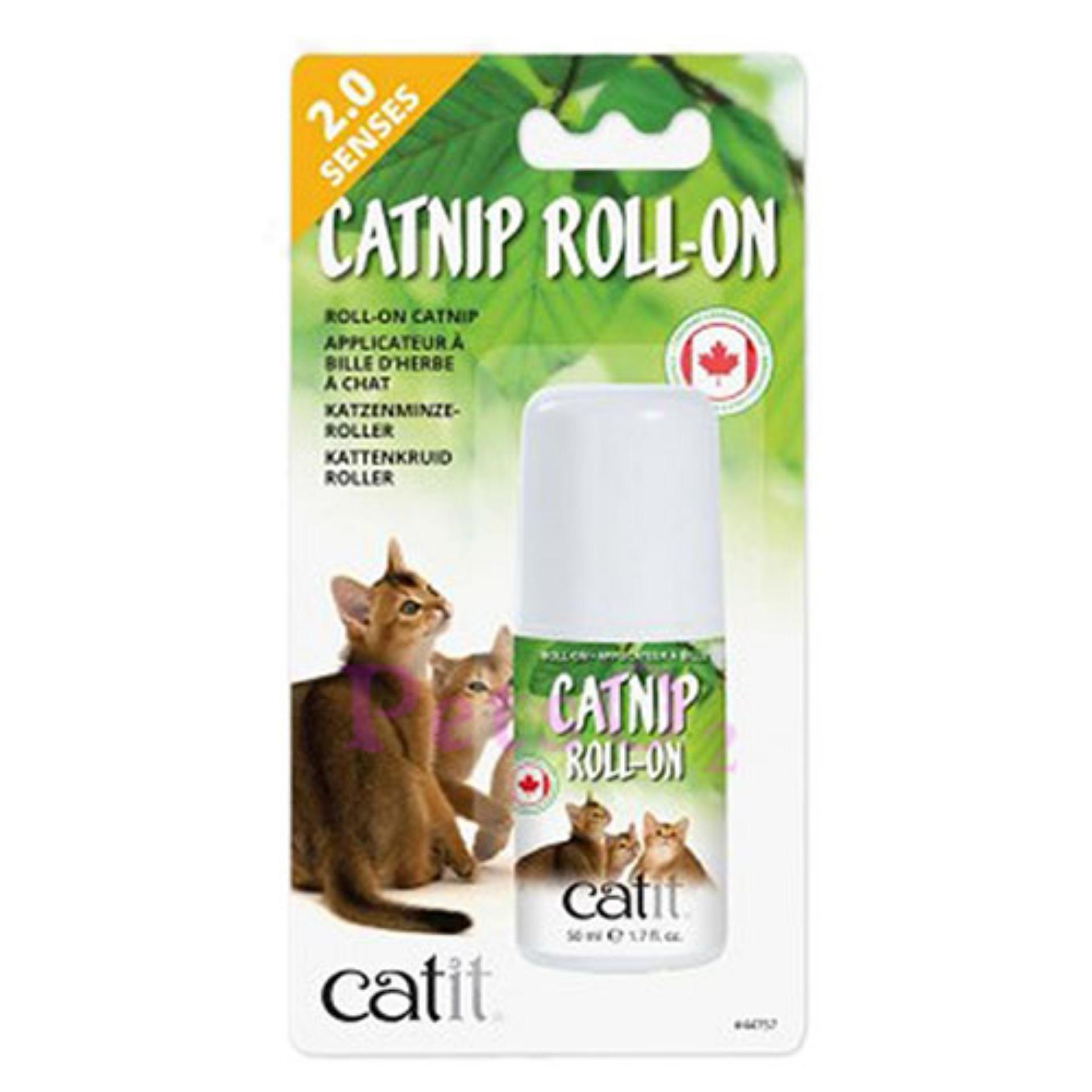 Catit Senses 2.0 Catnip Roll-On 50ml By Petso2.