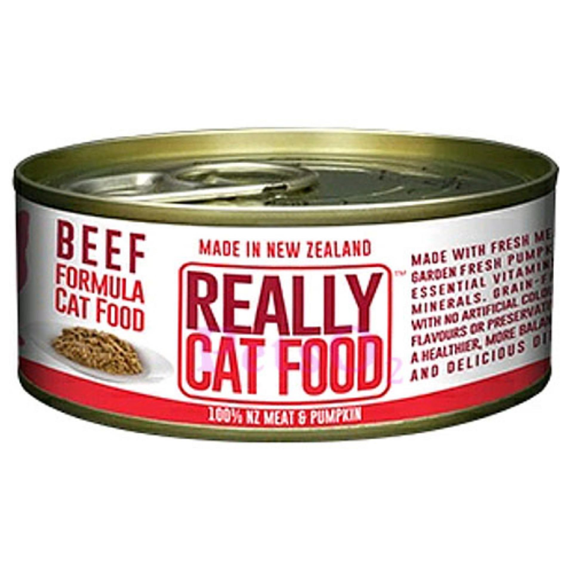 Sale Really Cat Food Beef 90G X 12 Cans Online On Singapore