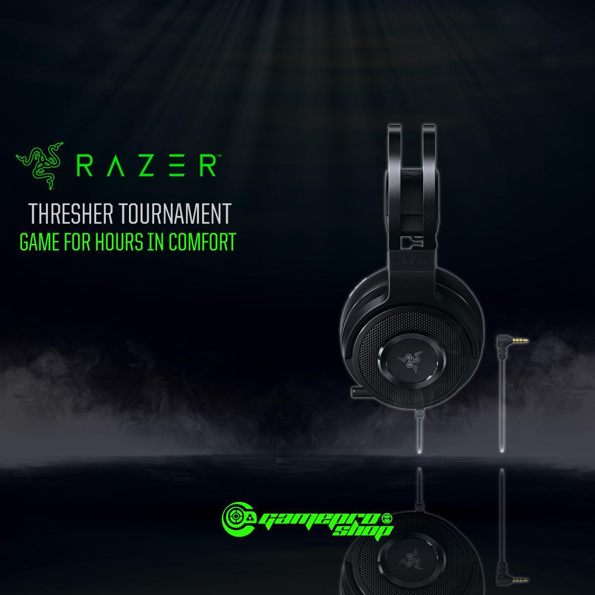 6e59bdf14dd Razer Thresher Tournament Wired Gaming Headset *gss Promo* By Gameprosg  (capitaland Merchant)