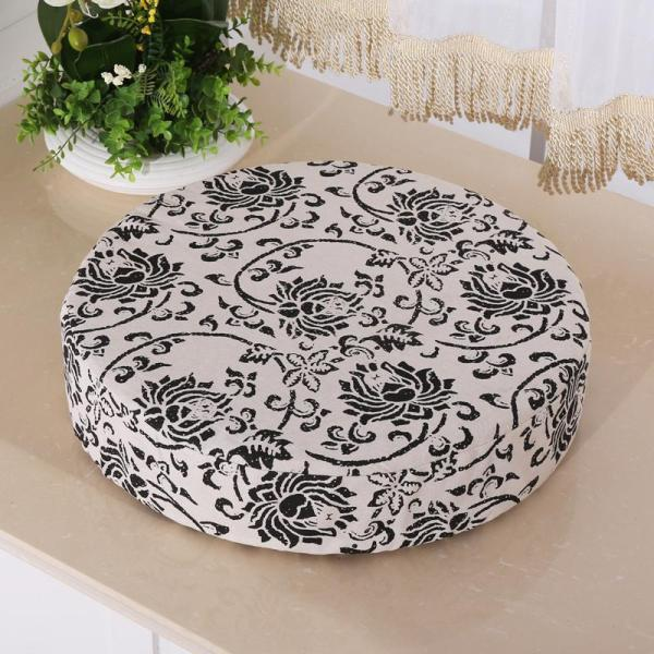 Futon throw pillow with Washable Cover Tatami throw pillow Meditation Pad Straw Tea Ceremony throw pillow Bay Window throw pillow