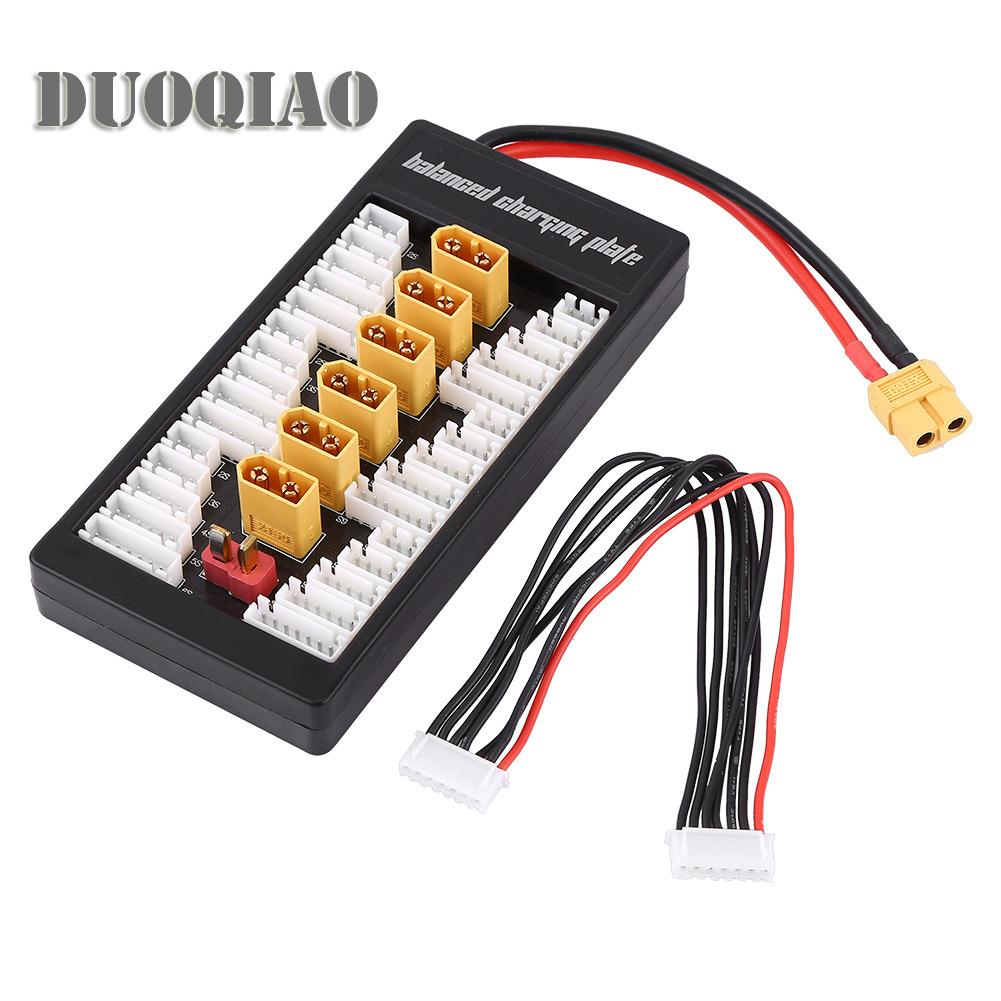 Multi 2S 6S Lipo Parallel Balanced Charging Board Xt60 Plug For Rc Battery Charger B6Ac A6 720I Intl Online