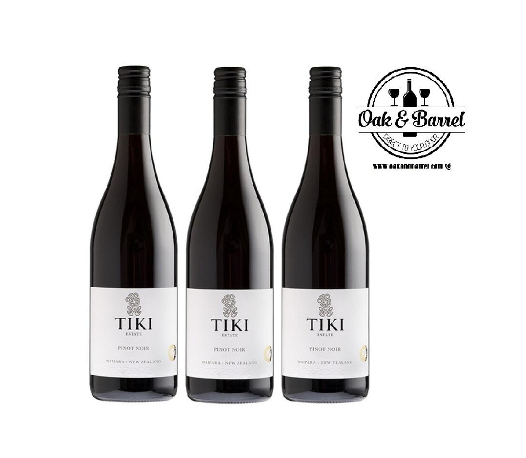 Price Tiki Single Vineyard Marlborough Pinot Noir 750Ml X 3 Online Singapore