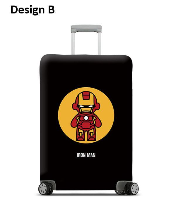 Thick And Elastic Cartoon Travel Luggage Protector Luggage Cover Price
