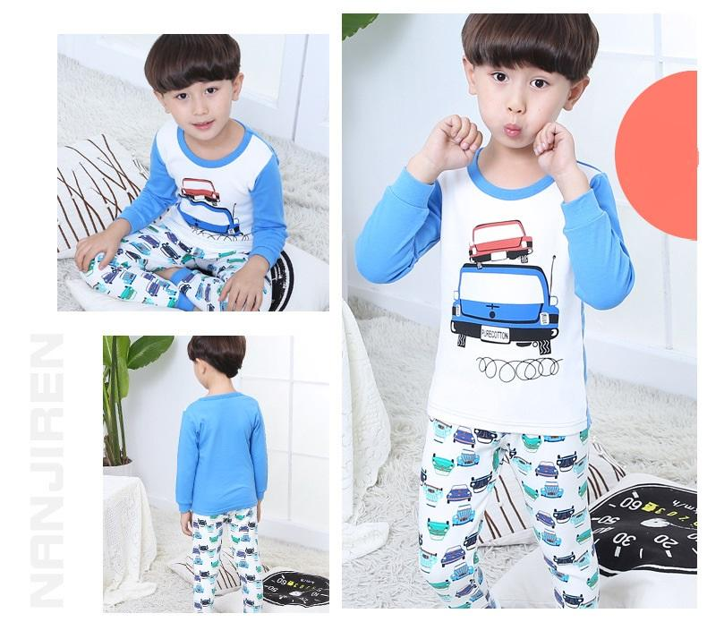 Big Kids Pyjamas /children Family Couple Pyjamas Set Up To Size 180cm Boys [pjo14] By Jolly Sg.