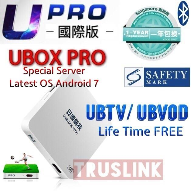 【Sg Version】Unblock Tv Box Authorised Seller Local Warranty Support New Arrival Original Gen 4 5 Upro Upgraded Promo Code