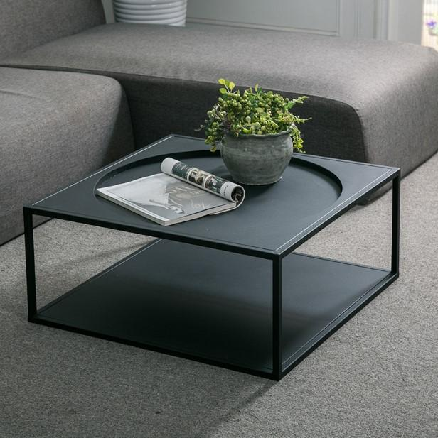 Modern Minimalist Industrial Coffee Table