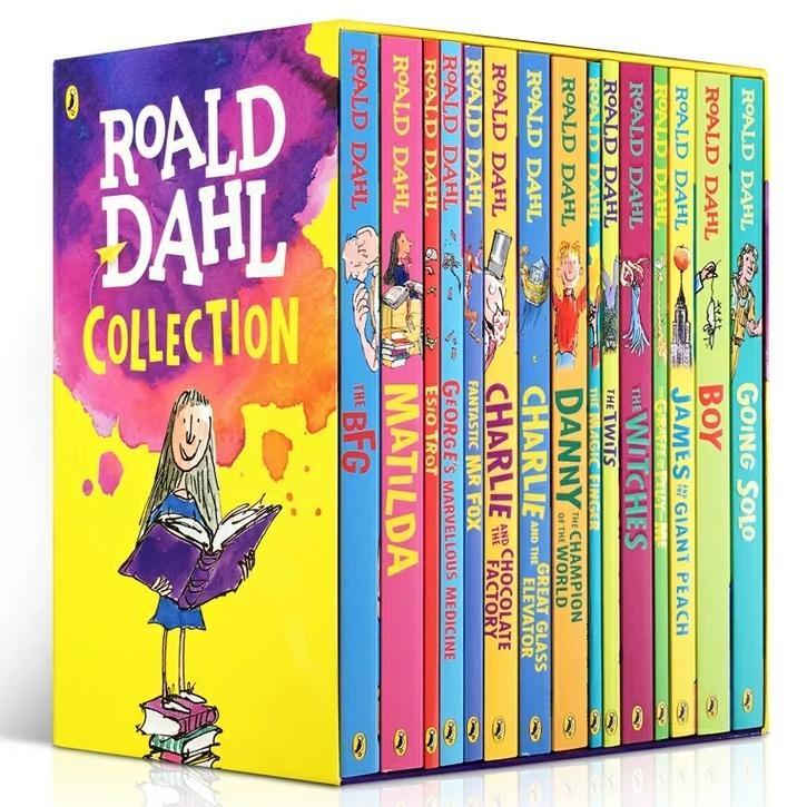 [SG Ready Stock] Roald Dahl boxset 15 books c2
