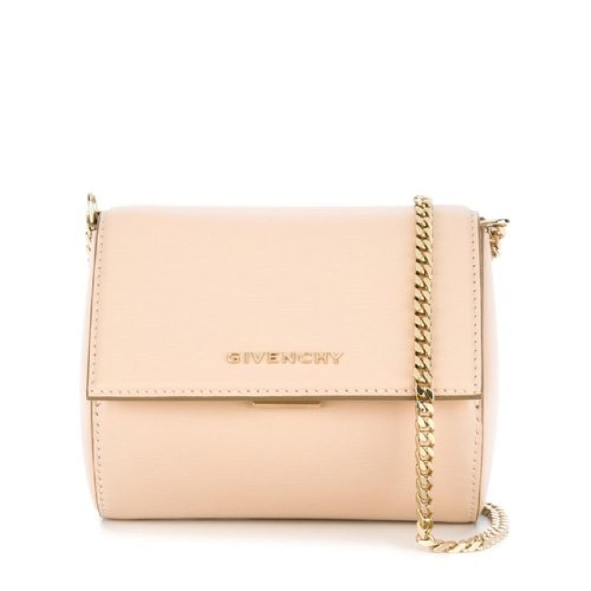 Givenchy Micro Pandora Box Chain (Nude Pink)   BB05265006657 4e601290bd4f7