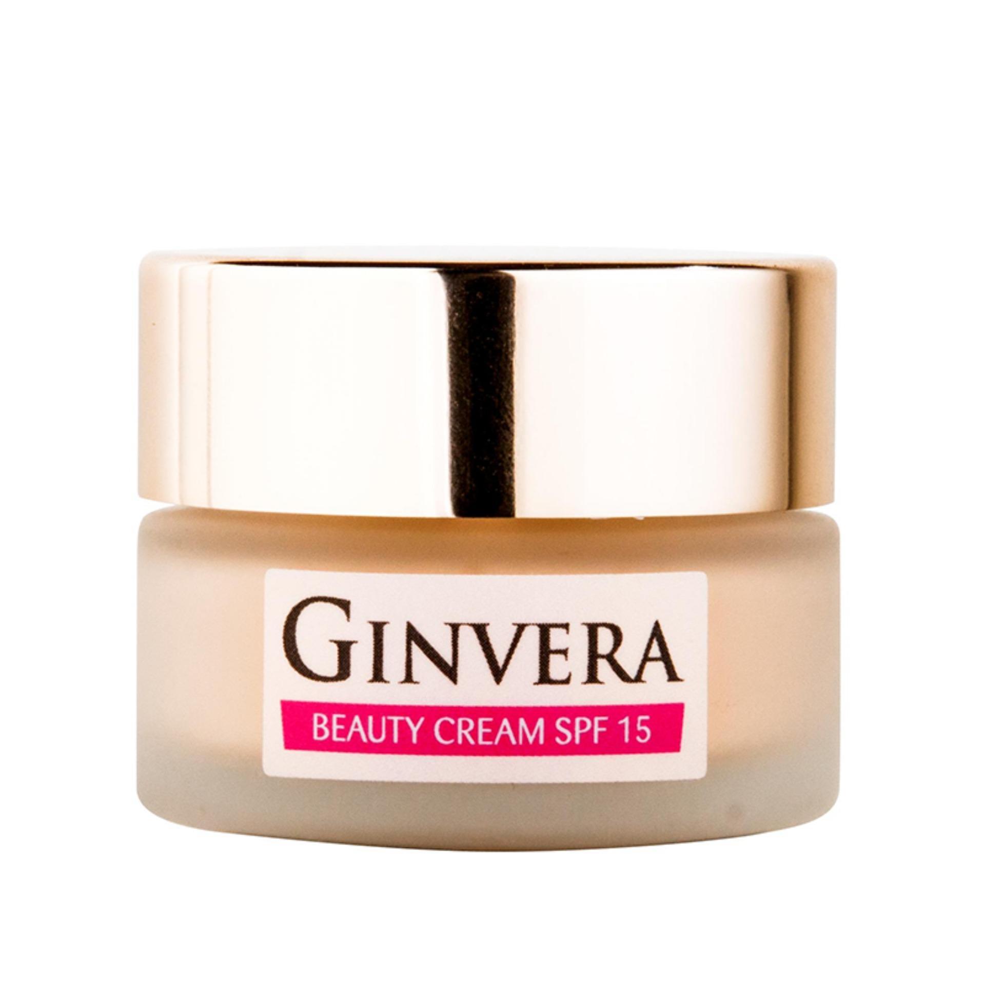 Ginvera Korean Sercets White Glow Beauty Cream spf15 16g