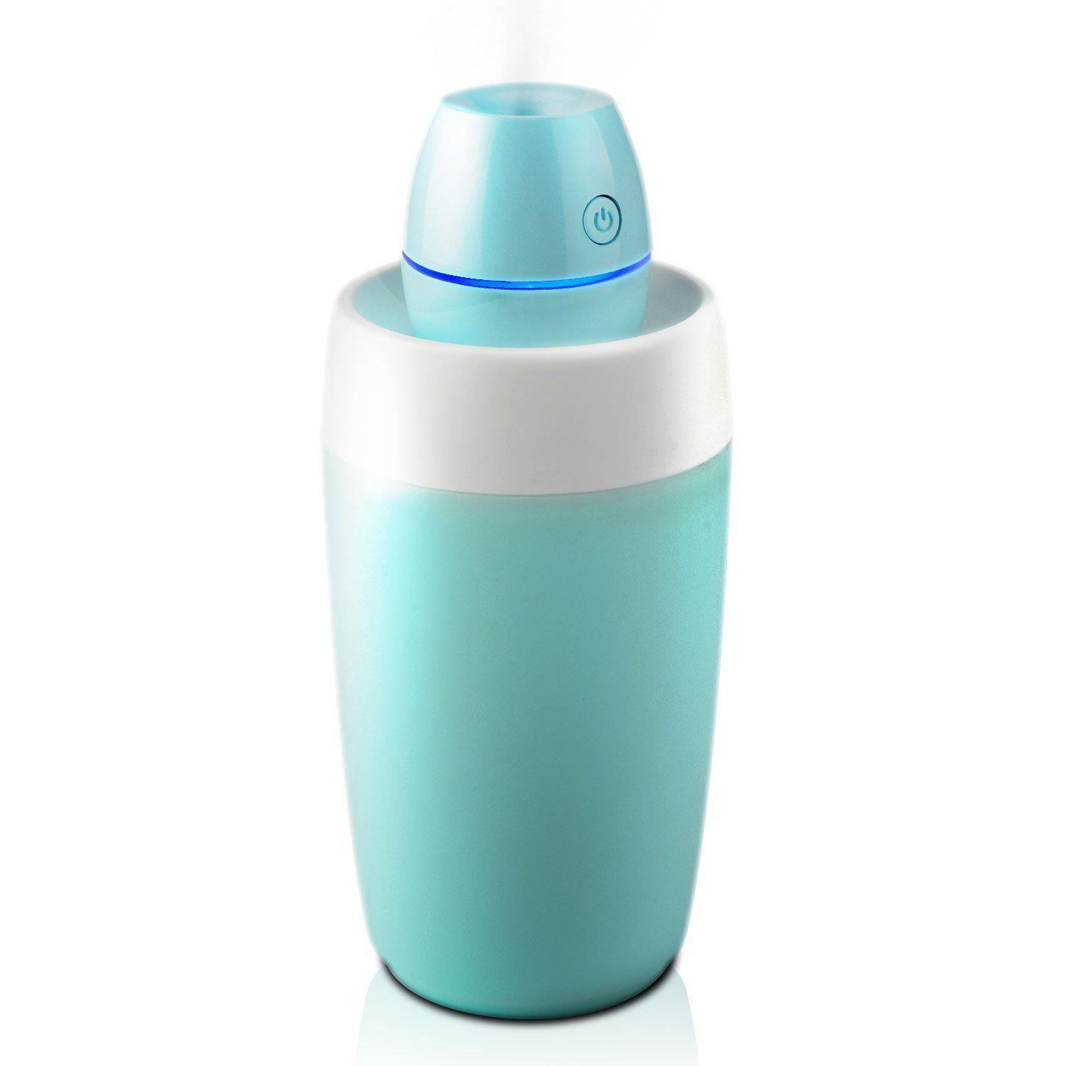 Price Comparisons Of Starrybay Portable Mini Cool Mist Humidifier Ultrasonic Air Essential Oil Diffuser With Led Small Perfect For Travel Home Office Or Car Humidifiers With Water Bottle Intl