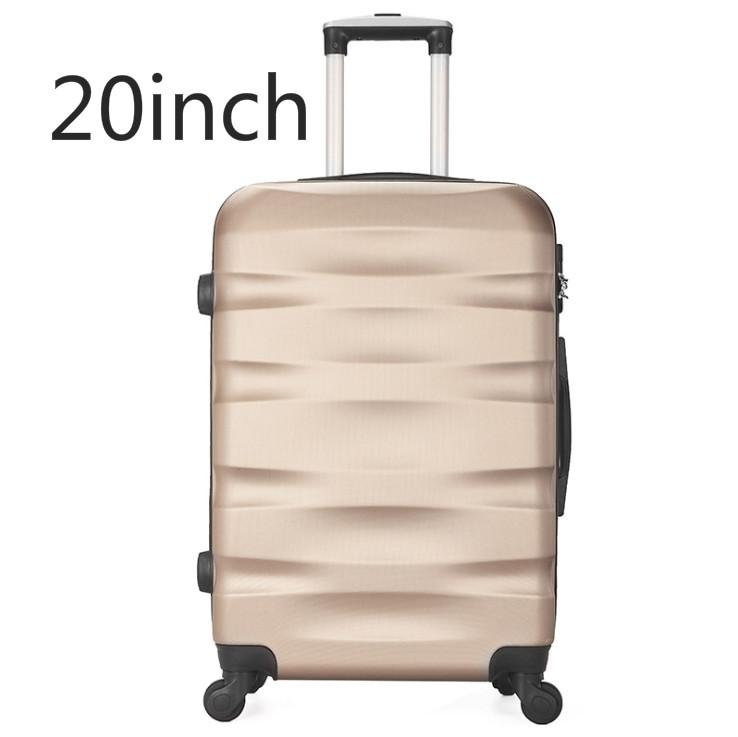 Leather box luggage universal wheel trolley case 20/24/28 inch Korean version of the suitcase student password box-intl