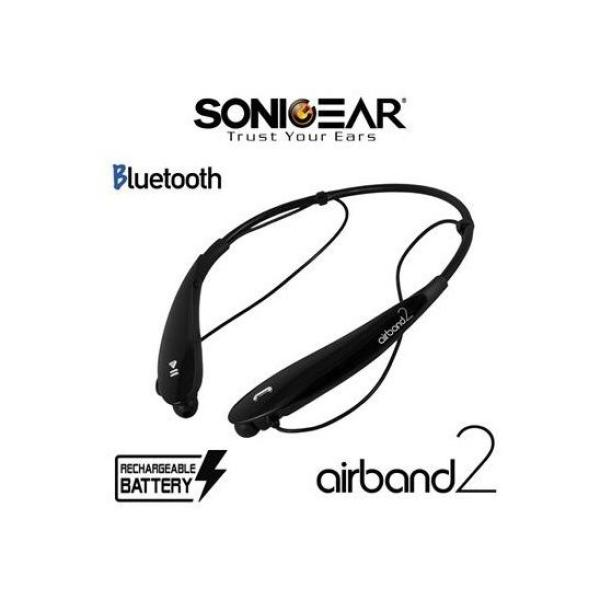 Airband 2 Bluetooth Headset (Black) Singapore