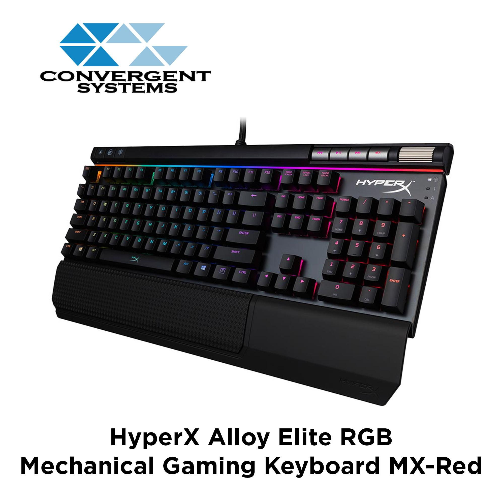 Buy Sell Cheapest Cherry Mx Best Quality Product Deals Singapore Corsair K66 Mechanical Red Black Color Hyperx Alloy Elite Rgb Gaming Keyboard