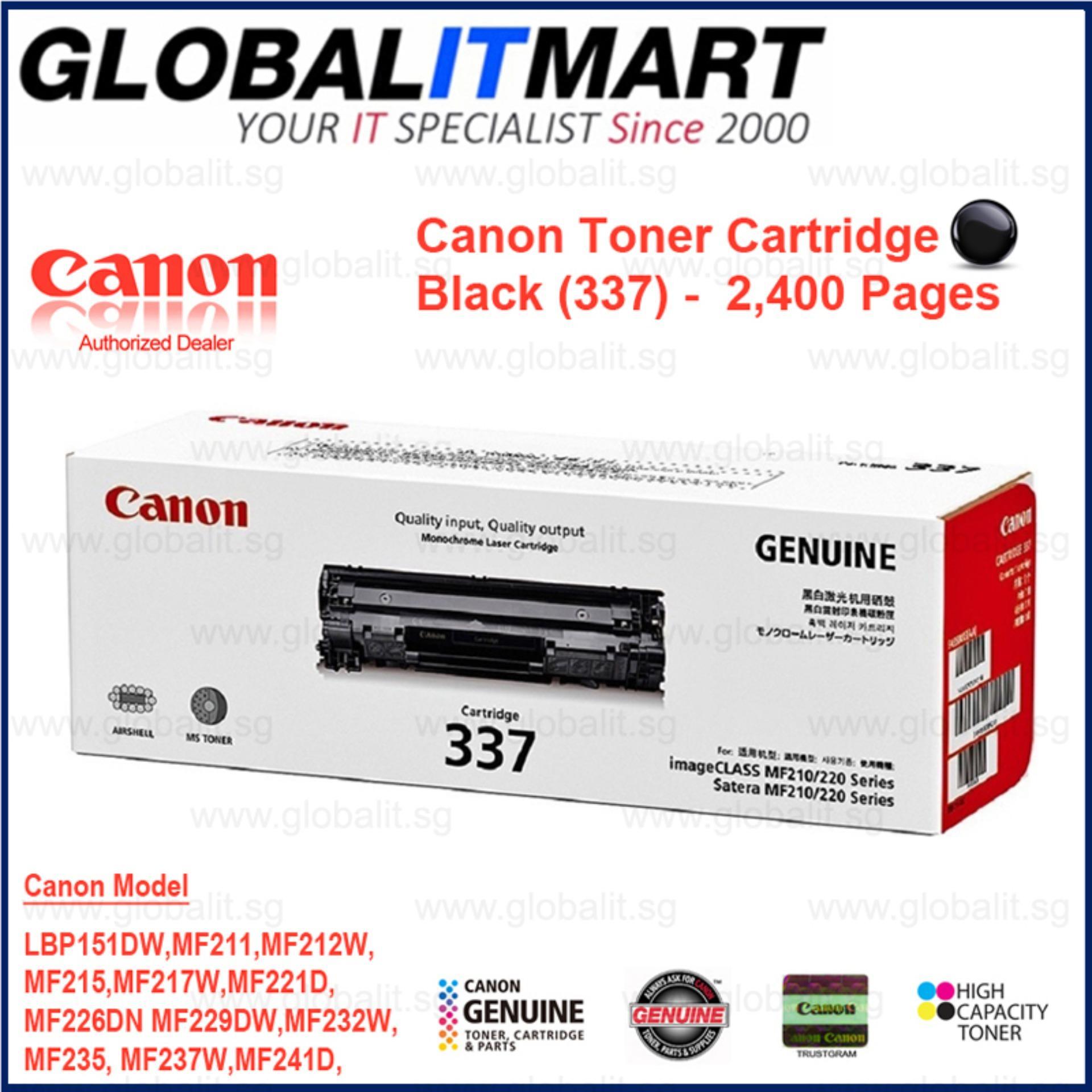 Price Canon 337 Original Toner Cartridge 2 4K For Lbp151Dw Mf211 Mf212W Mf215 Mf217W Mf221D Mf226Dn Mf229Dw Mf232W Mf235 Mf237W Mf241D Mf244Dw Mf246Dn Mf249Dw On Singapore