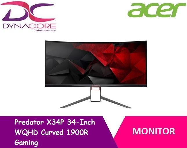 [ACER] Predator X34P 34-Inch WQHD Curved 1900R Gaming MONITOR