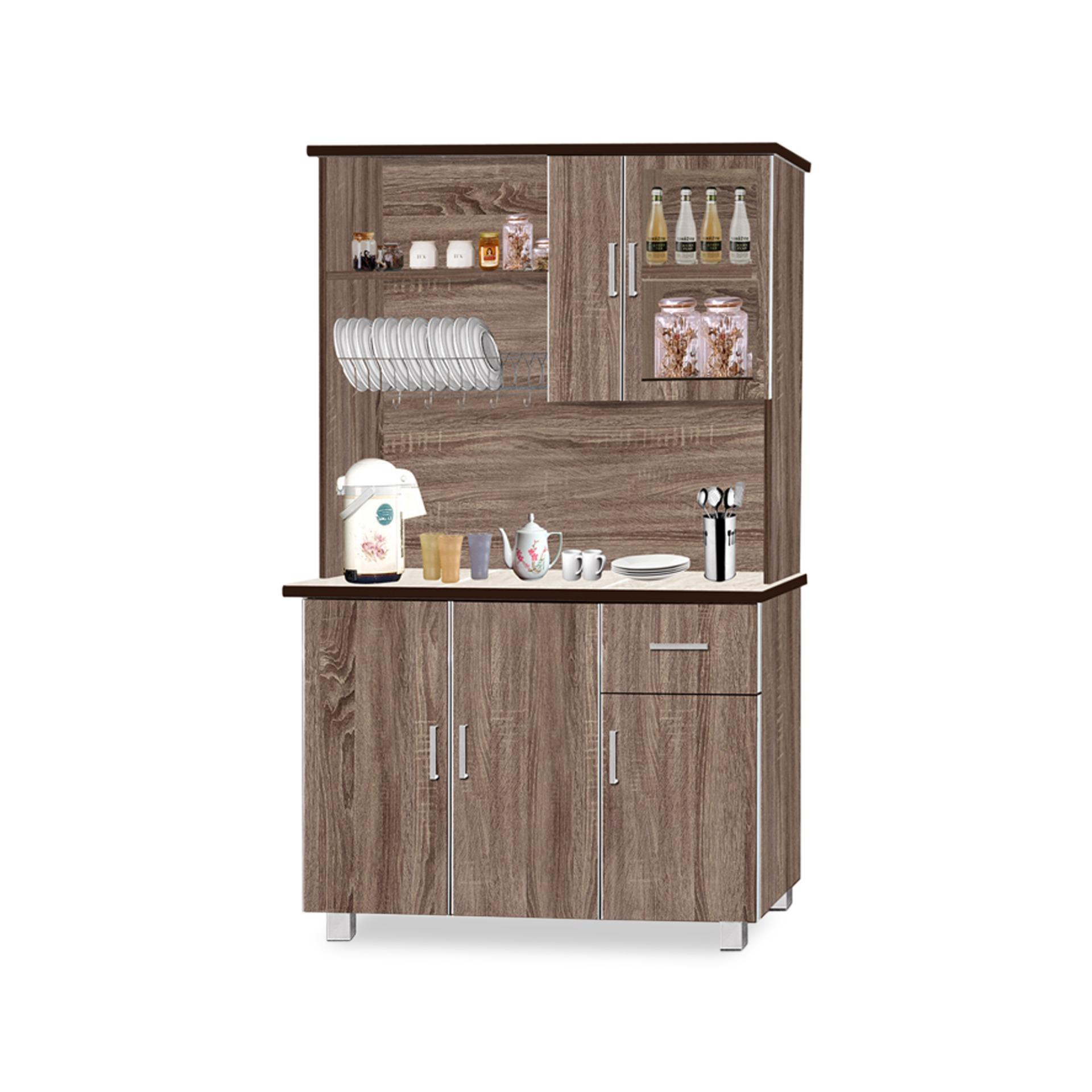 Hugo Dining Cabinet With Top (FREE DELIVERY)(FREE ASSEMBLY)