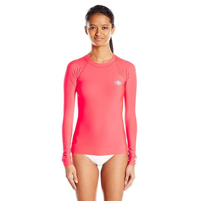 f162ad90de1a6 Billabong Women s Core Regular Fit Long Sleeve Rashguard