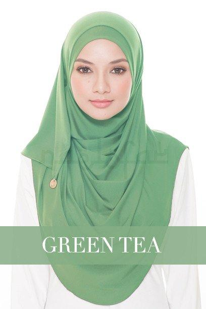 Babes And Basic* Naelofar Hijab Inspired* Premium Cotton Lycra* Semi- Instant* Muslim Wear By Cantik Butterfly.