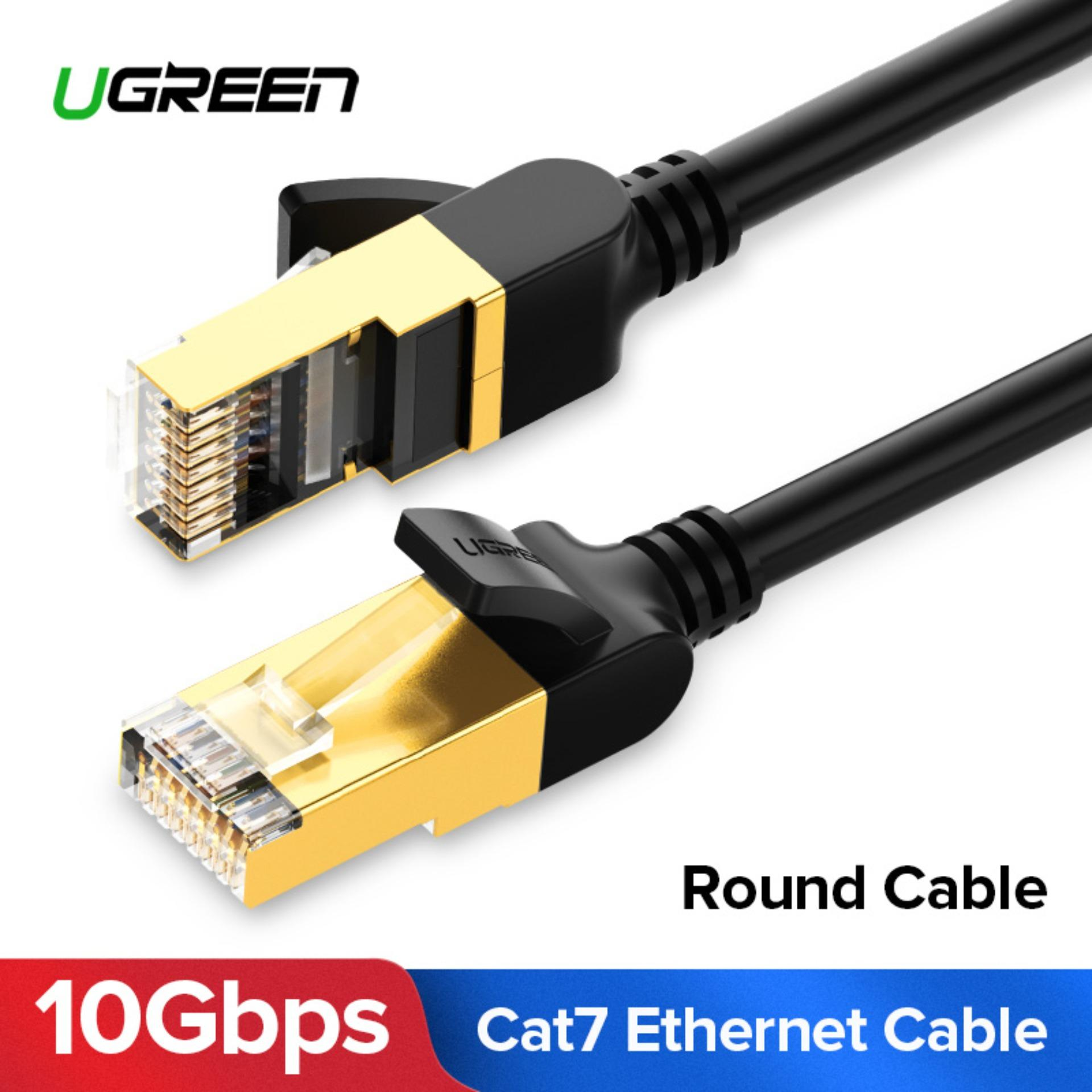 Buy Latest Ethernet Cables Adapters For Cat 6 Cable Wiring Router To Diagram Ugreen 05meter Round Cat7 Rj 45 Network Utp Lan 7