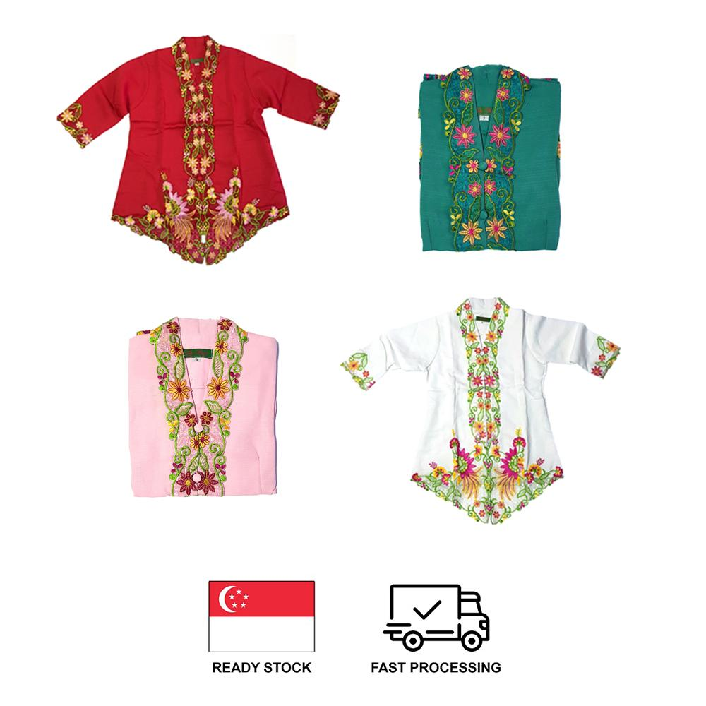 Peranakan Nonya Kebaya w/ Skirt for Girls