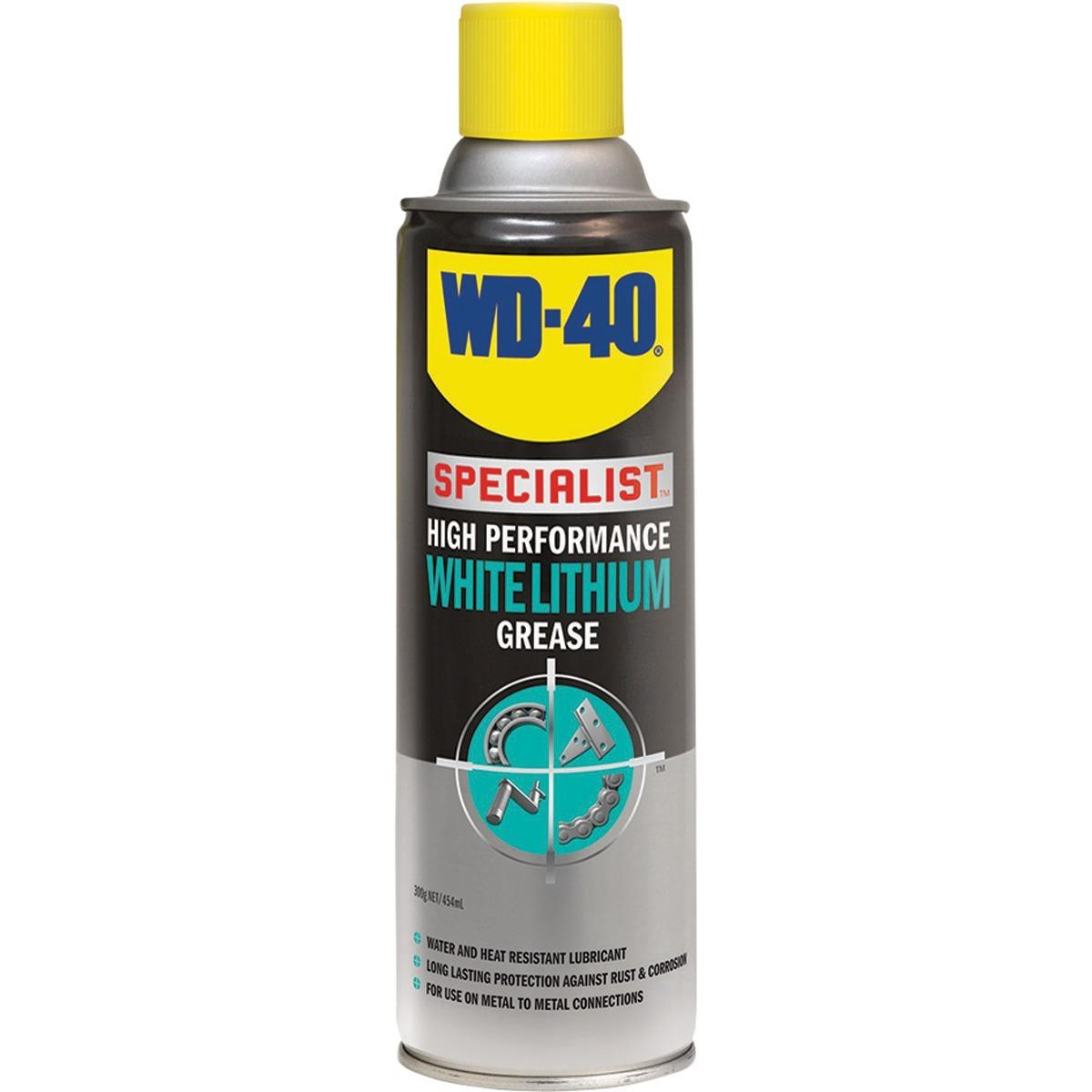 Where To Shop For Wd40 Wd 40 High Performance White Lithium Grease 360Ml