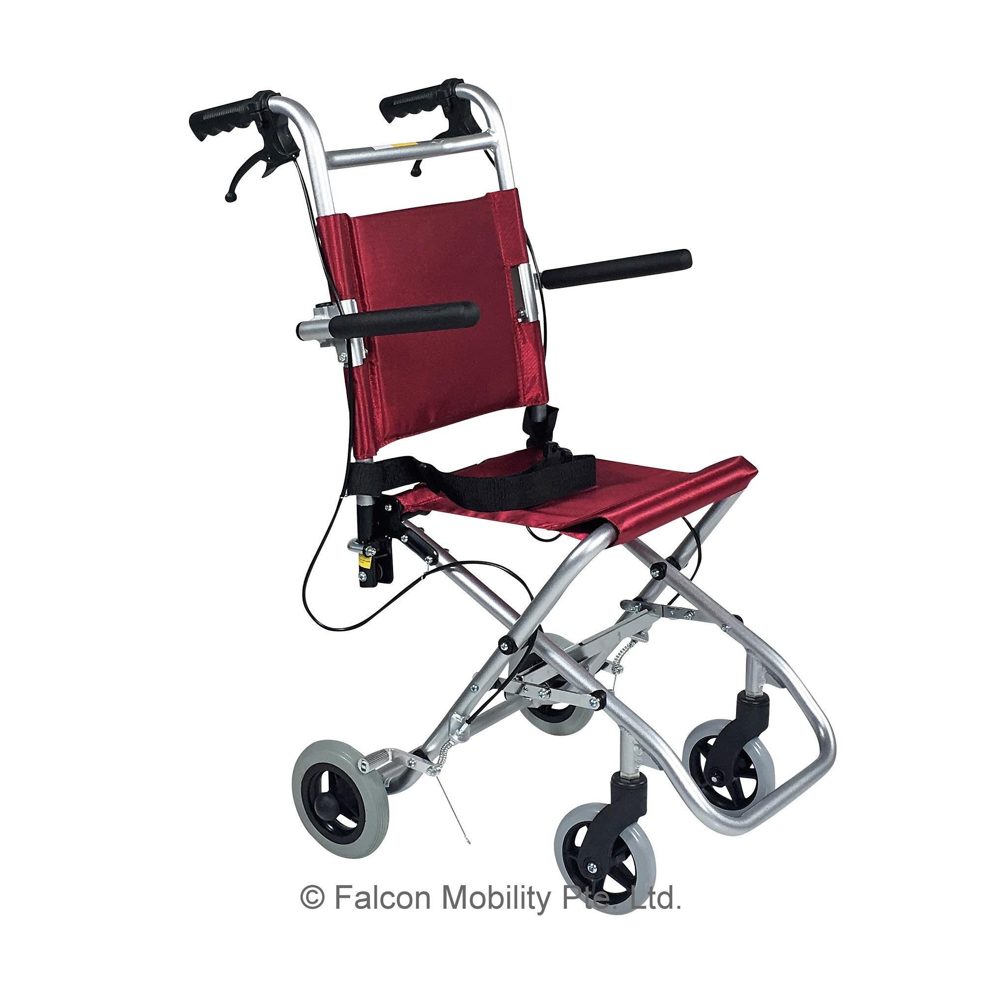 Discount Falcon Micro Transit Chair With Travel Bag Purple Falcon