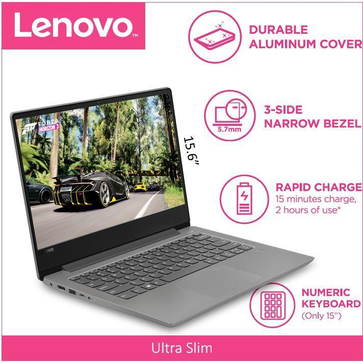 Lenovo IdeaPad 330S(Thin&Light)15.6 FHD IPS/ I7-8550U MIDNIGHT BLUE 2 Year Local Warranty