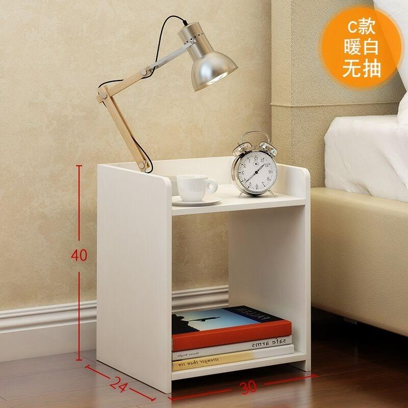Simplicity Low Cabinet Mini Bedside Table Locker Interlocking Commode Bedroom Bed bian jiao ju File Cabinet Storage Small Cabinet