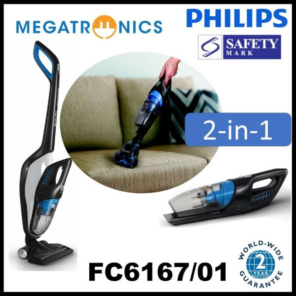 Philips PowerPro Duo 2-in-1 handstick with PowerCyclone FC6167 | Cordless 2 years warranty Singapore