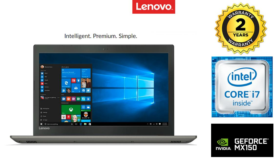 "Lenovo Ideapad 520 15.6"" i7-8550U 1TB+128G SSD 8GB DDR4 NVIDIA GeForce MX150 DDR5 4G (IRON GREY) (2yrs warranty)"