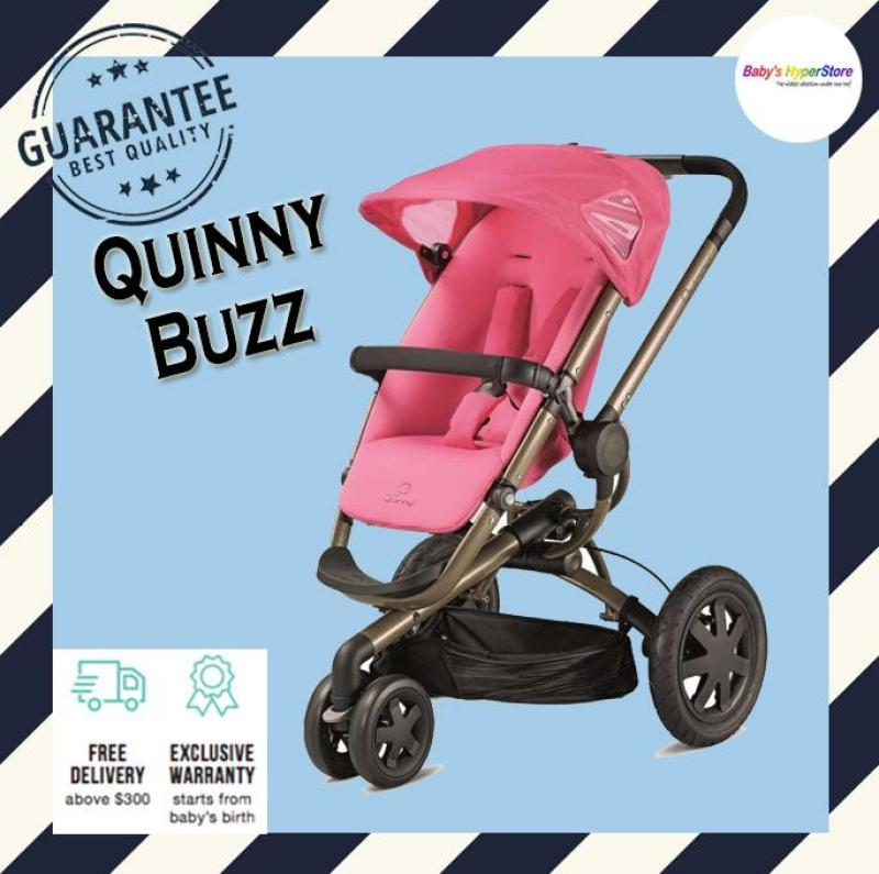 Quinny Buzz Stroller - Suitable from new born to 4 years - LOCAL seller warranty Singapore