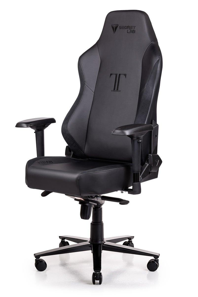 Secretlab TITAN Series PRIME PU Leather Gaming Chair - Black (w/ Suede)