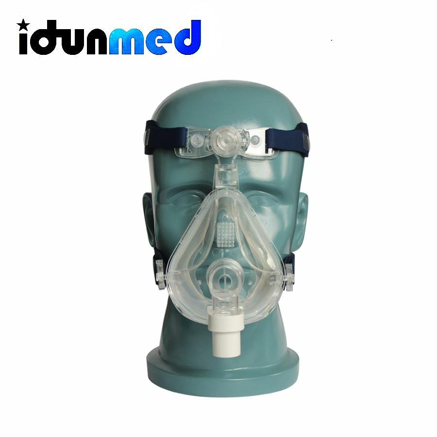 Buy Bmc Fm5 Cpap Masks Full Face Mask Size Large With Headgear Chin Strap For Sleep Apnea Anti Snoring Online China