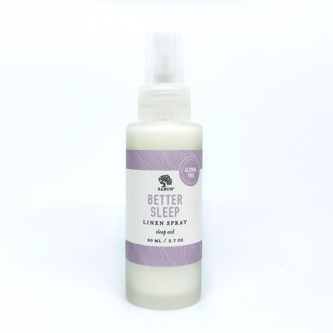 Better Sleep Linen Spray By Sabun.