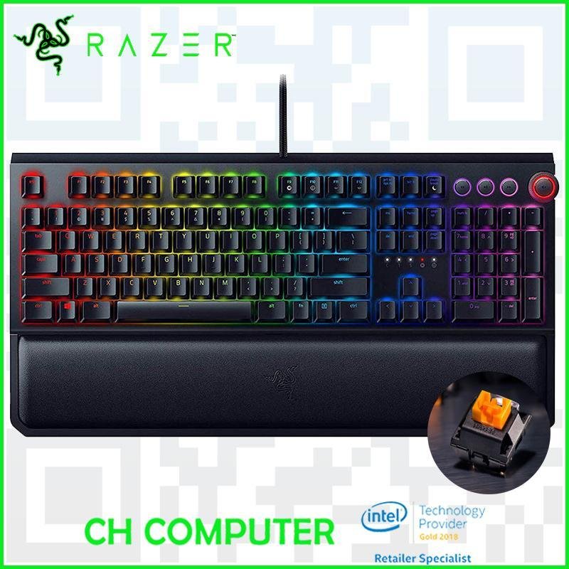 Razer BlackWidow Elite - Razer Orange Switch Singapore