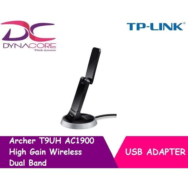Tp Link Archer T9Uh Ac1900 High Gain Wireless Dual Band Usb Adapter For Sale