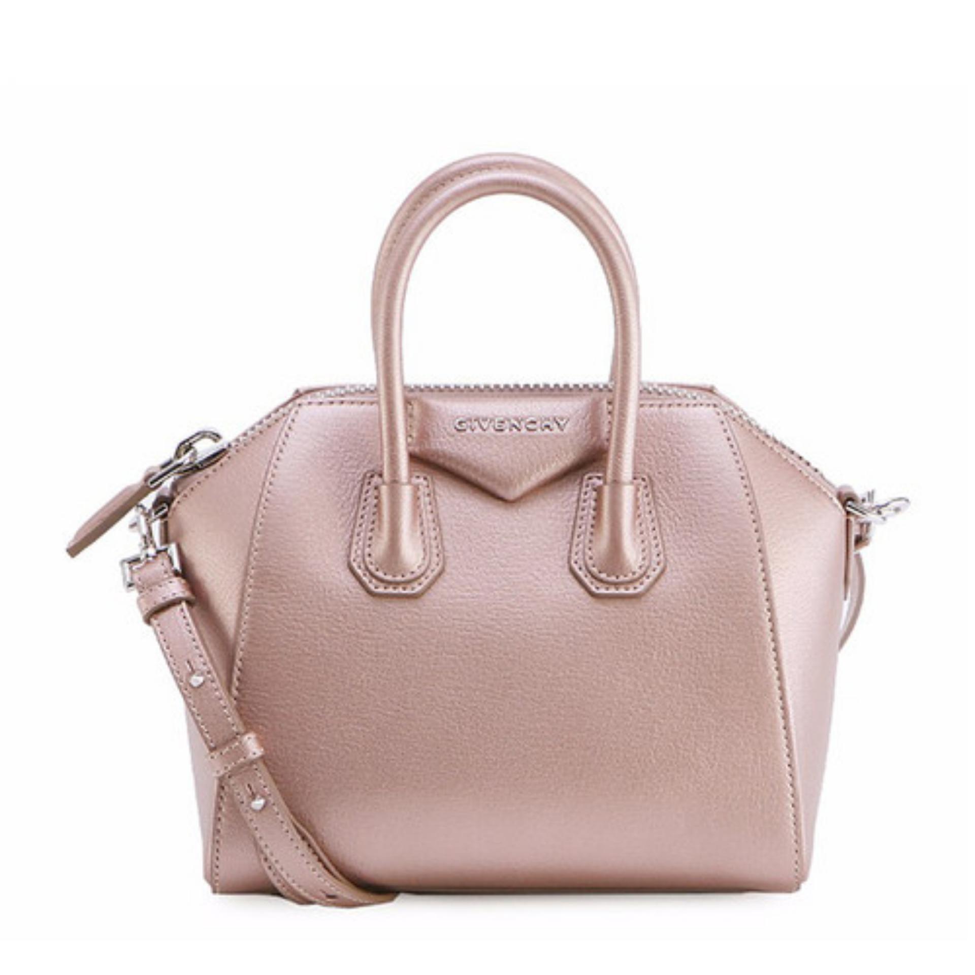 8004e132e648 Givenchy Mini Antigona Bag (Rose Gold)   BB05114450681