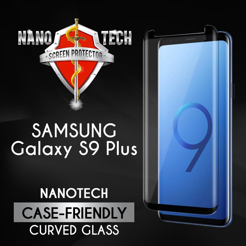 Discount Free Gift Nanotech Samsung Galaxy S9 Plus Case Friendly Tempered Glass Screen Protector 3D Curved Nanotech On Singapore