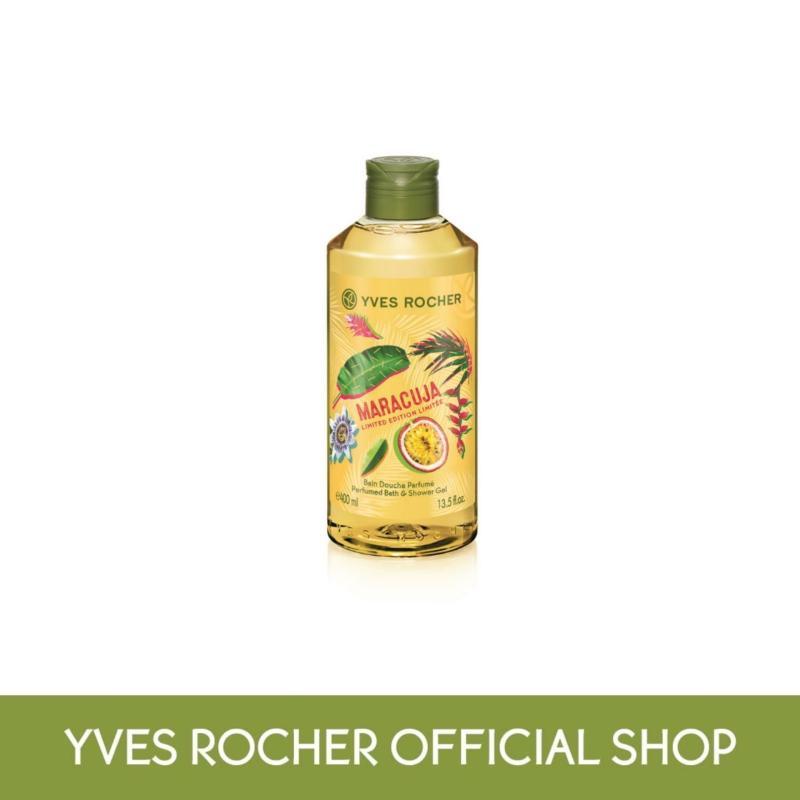 Buy Yves Rocher Energizing Maracuja Shower Gel 400ml (TT) Singapore
