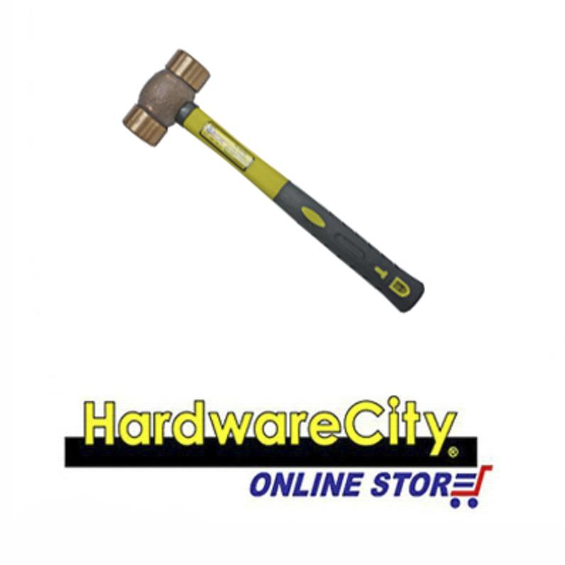 Orex Copper Hammer TPR Handle - 16 oz/ 1 lb [001-TPR-D700X 16]