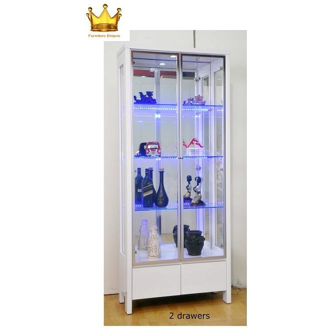 Tommy Display Cabinet / Decorative Hall Unit / Glass Cabinet