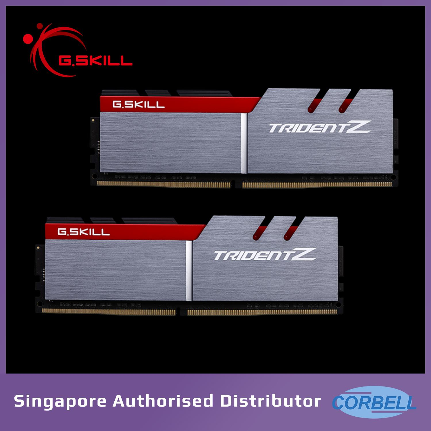 G.skill Trident Z 3200mhz 2x8gb Ddr4 Dual Channel Kit By Corbell Technology Pte Ltd.