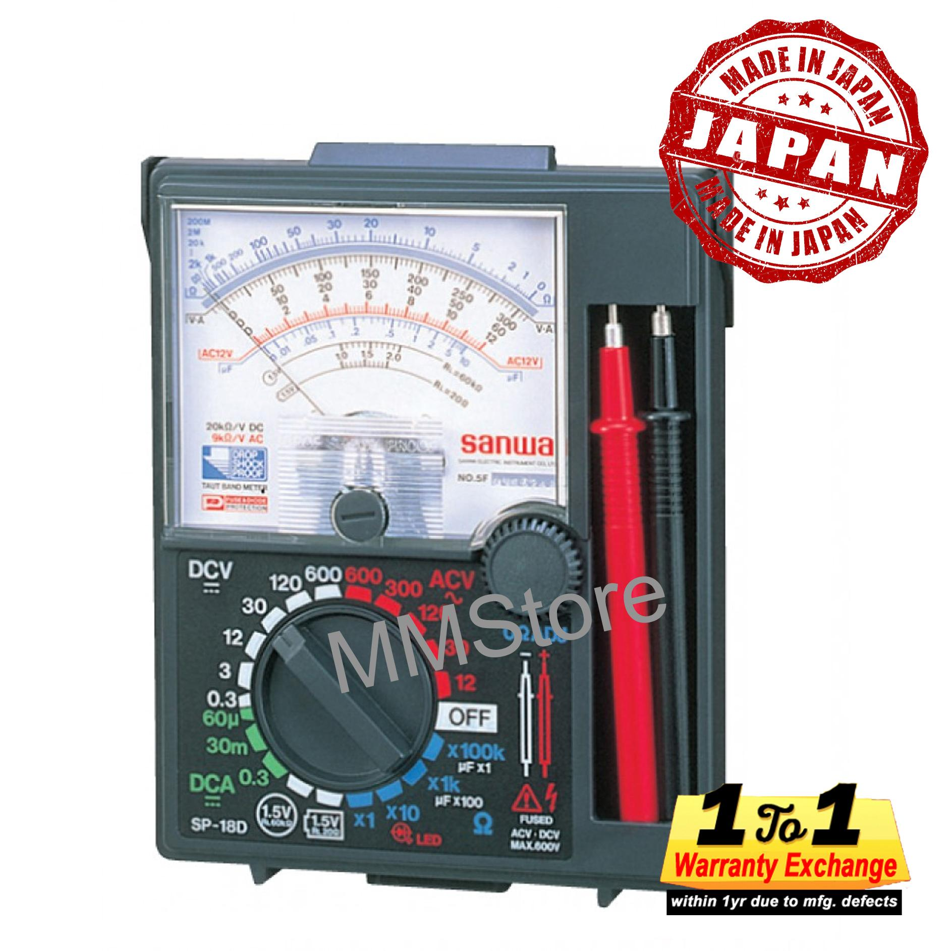 Where Can You Buy Sanwa Analog Multimeter Sp 18D