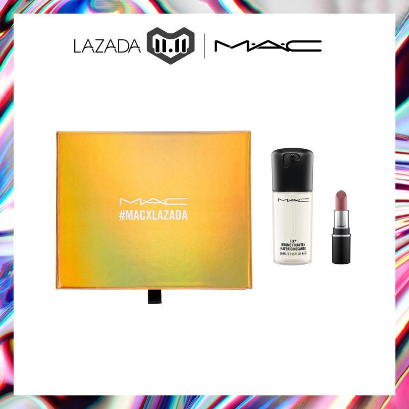 Buy [LAZADA 12.12 Exclusive] MINI M·A·C PREP + PRIME FIX+ + WHIRL DUO Singapore