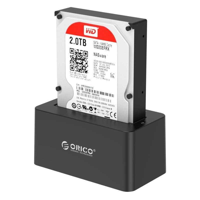 Best Price Orico 6619Us3 2 5 3 5 Hard Drive Hdd Docking Station Usb 3 For Sata Hard Drive Disk